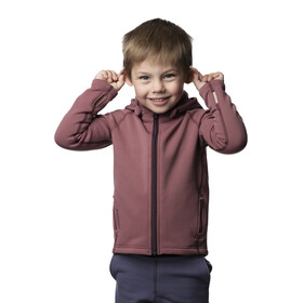 Houdini Kids Power Houdi Jacket Rasberry Rush Red